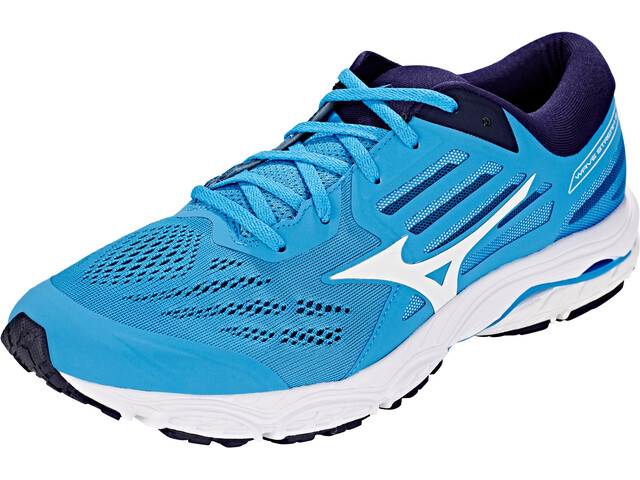 Mizuno Wave Stream 2 Shoes Men Malibu Blue/White/Blue Wing Teal